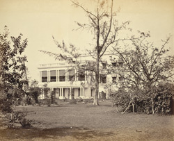 Mr Doyne's House at Ballygunge [Calcutta]